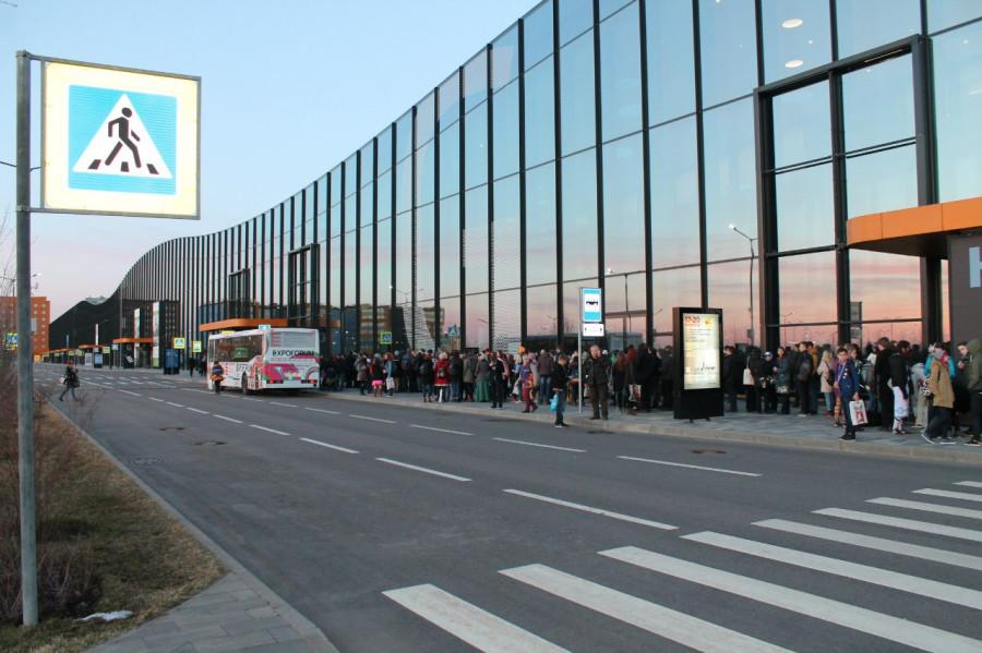 Cанкт-Петербург, Экспофорум: Петербургское шоссе 64/1, павильон H. 16 и 17 апреля 2016
