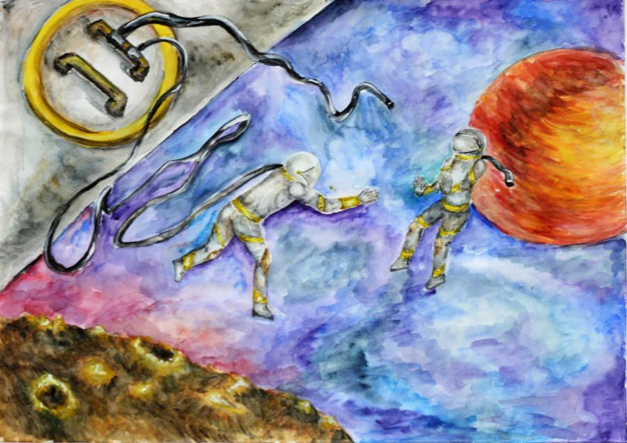 Боброва Анастасия - 15 лет - Санкт-Петербург - ЦТТ «Старт+» - про спасение космонавта
