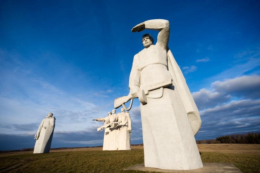 Памятник 28 панфиловцам