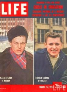Сравнение качества образования — обложка журнала Лайф от 24.03.1958