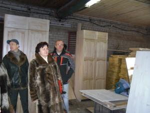 2014.02.14 Экскурсия для депутатов по столярным мастерским в Александровском