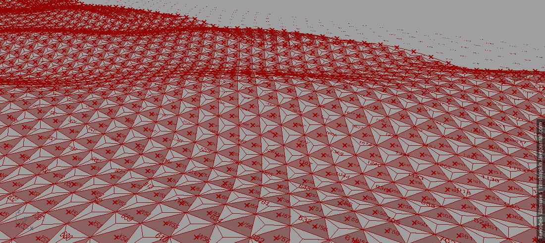hexagons with grasshopper
