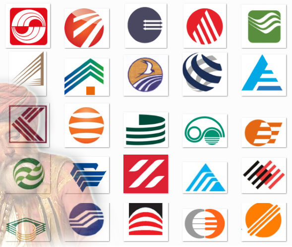 логотипы 25-и банков