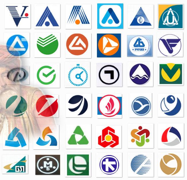 логотипы еще 36-и банков