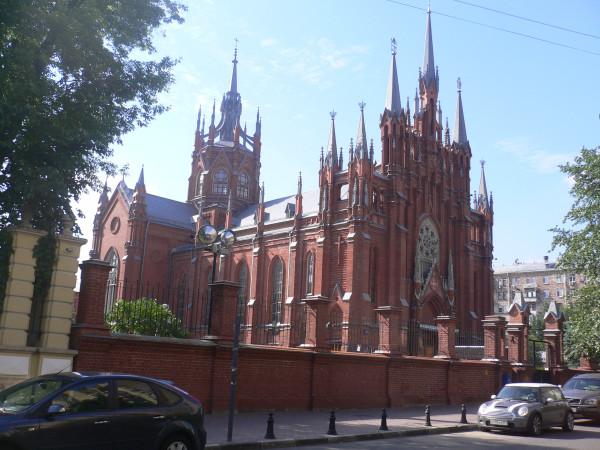 Костел на М.Грузинской