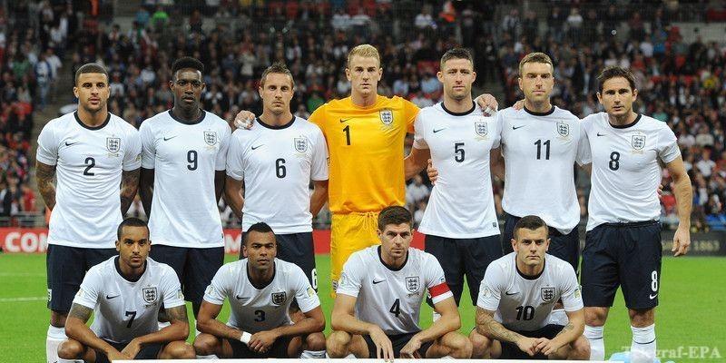 состав сборной Англии в
