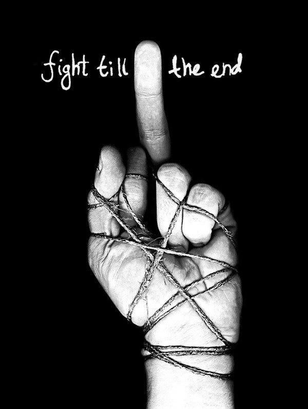 fight till the end