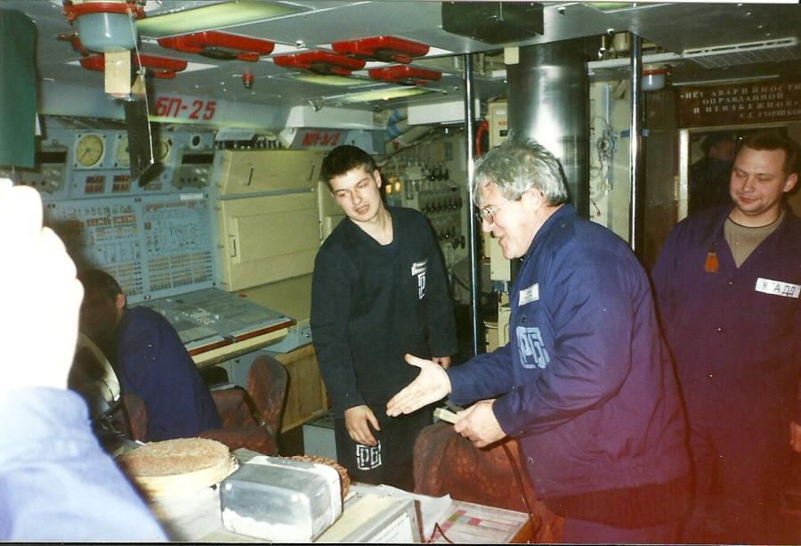экипаж подводной лодки расписание