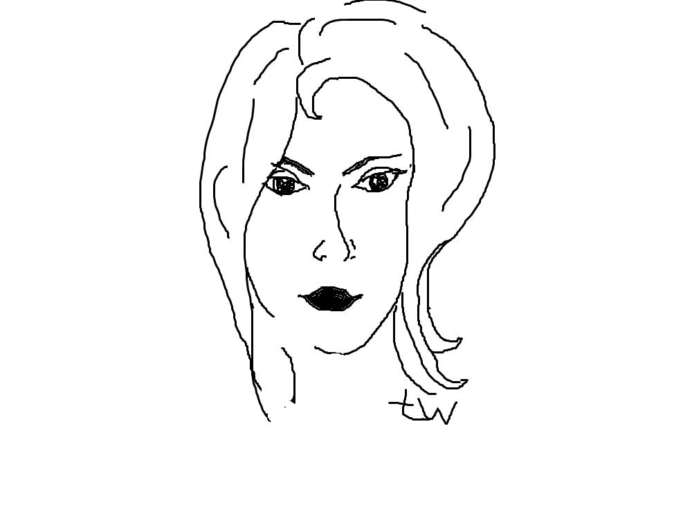 девушка 4