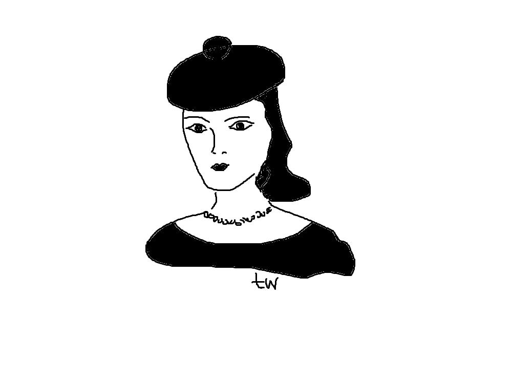 девушка 8