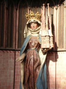 St. Elisabeth Sculpture in Elisabethkirche, Marburg