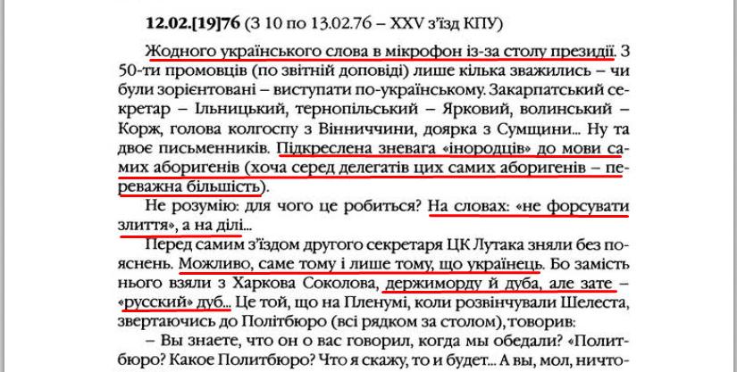 """О. Гончар, """"Щоденники"""", ст. 250, Том II, 2003 р."""