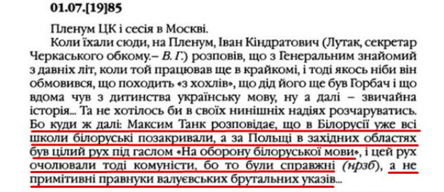 """О. Гончар, """"Щоденники"""", ст. 60, Том III, 2003 р."""