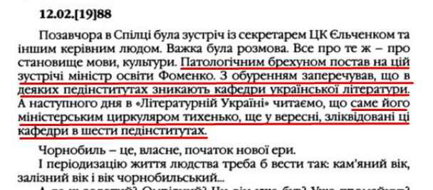"""О. Гончар, """"Щоденники"""", ст. 178 , Том III, 2003 р."""