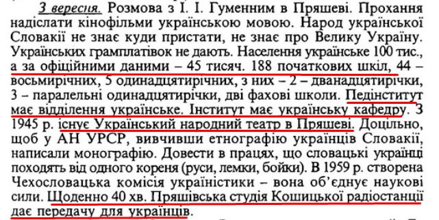 Спогади / Ф. Д. Овчаренко, ст. 203