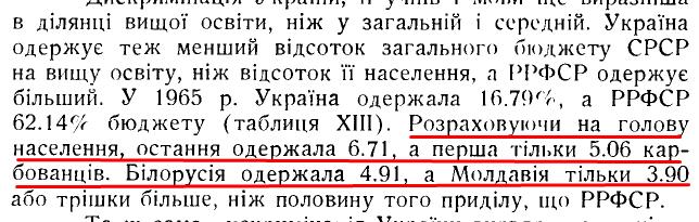 Коляска І. «Освіта в радянській Україні», ст. 100