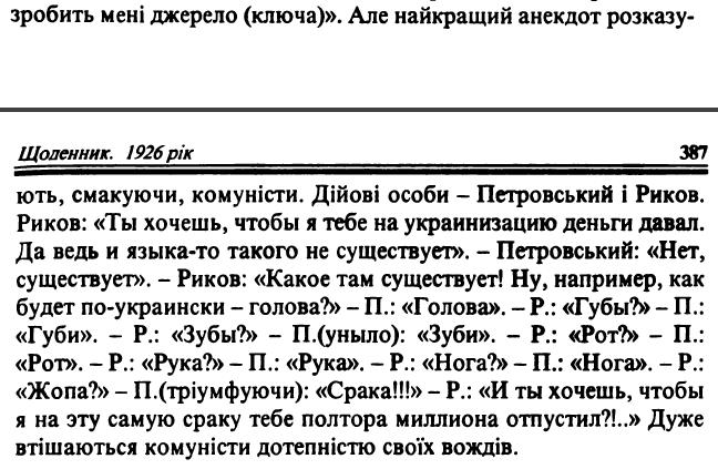 Сергій Єфремов, «Щоденники, 1923-1929», ст. 387