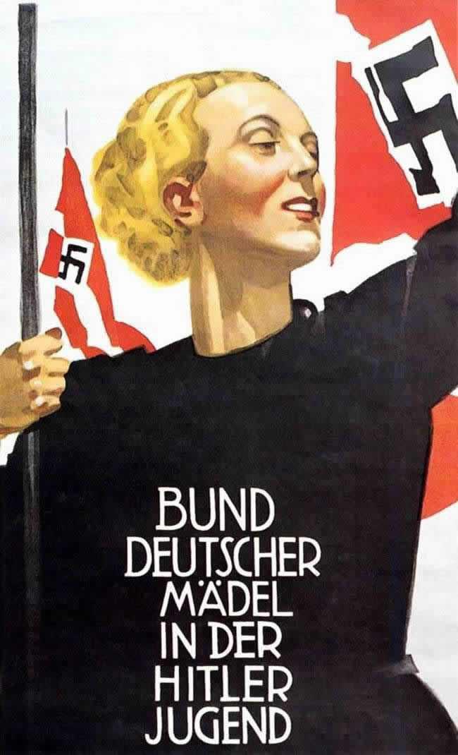 Союз немецких девушек в составе гитлерюгенда (2)