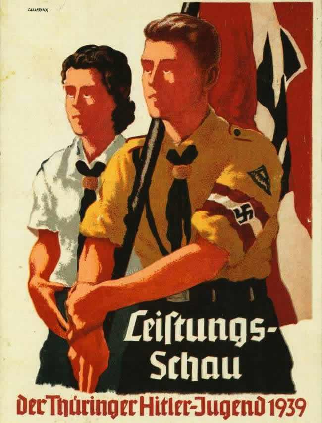 Организации гитлерюгенда земли Тюрингия (1939 год)