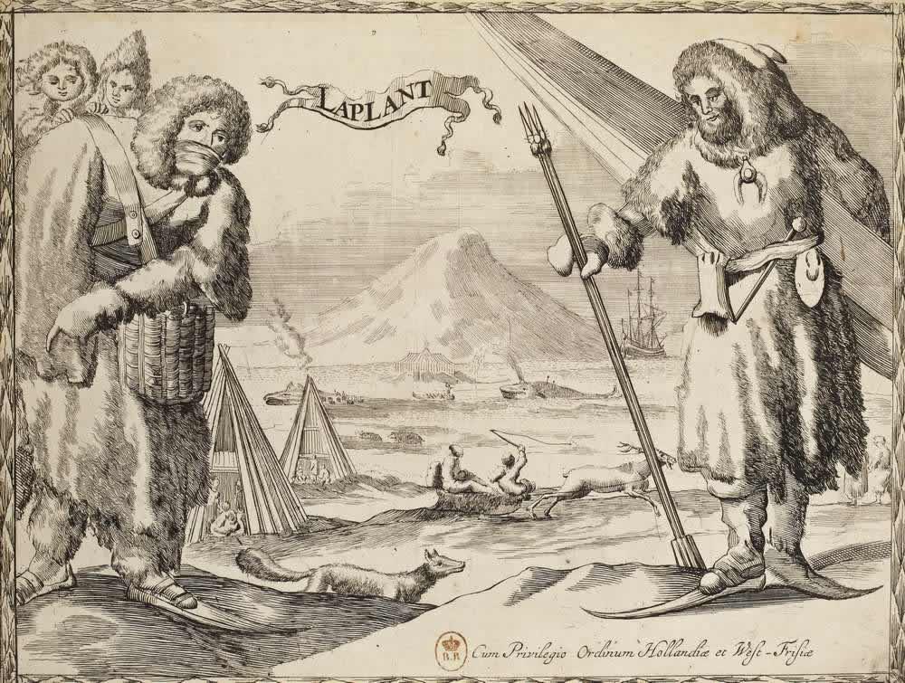 Костюмы жителей Лапландии (Скандинавия)