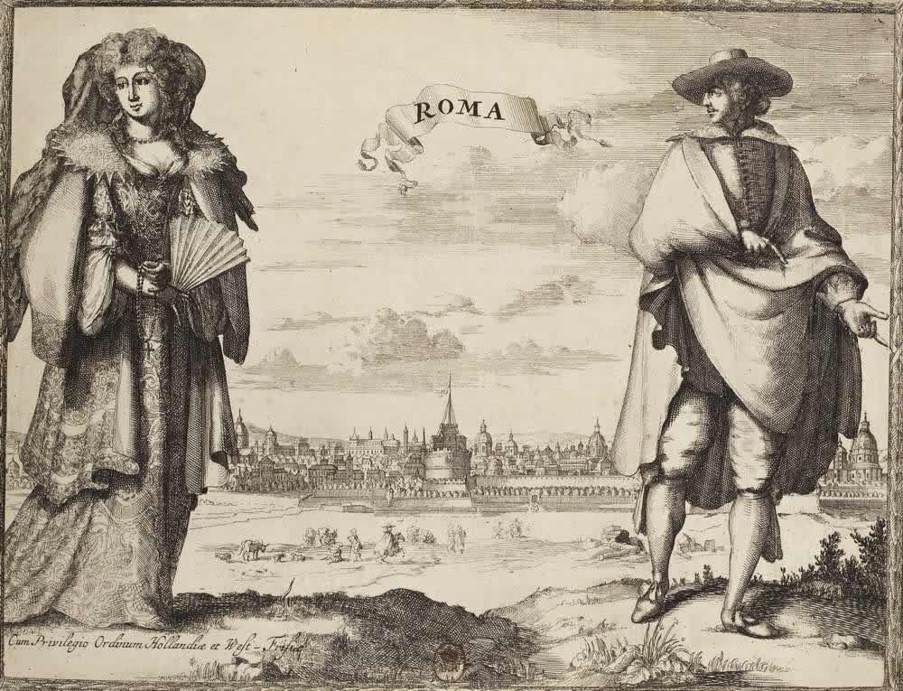 Костюмы жителей Рима (Италия)