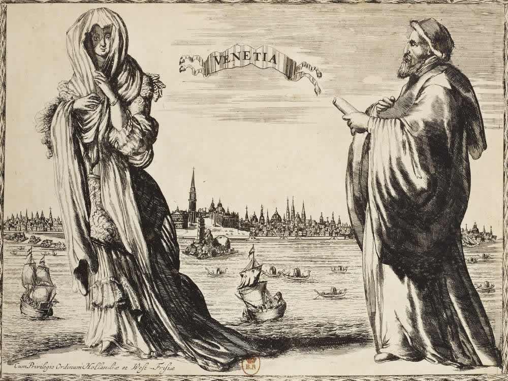 Костюмы жителей Венеции (Италия)