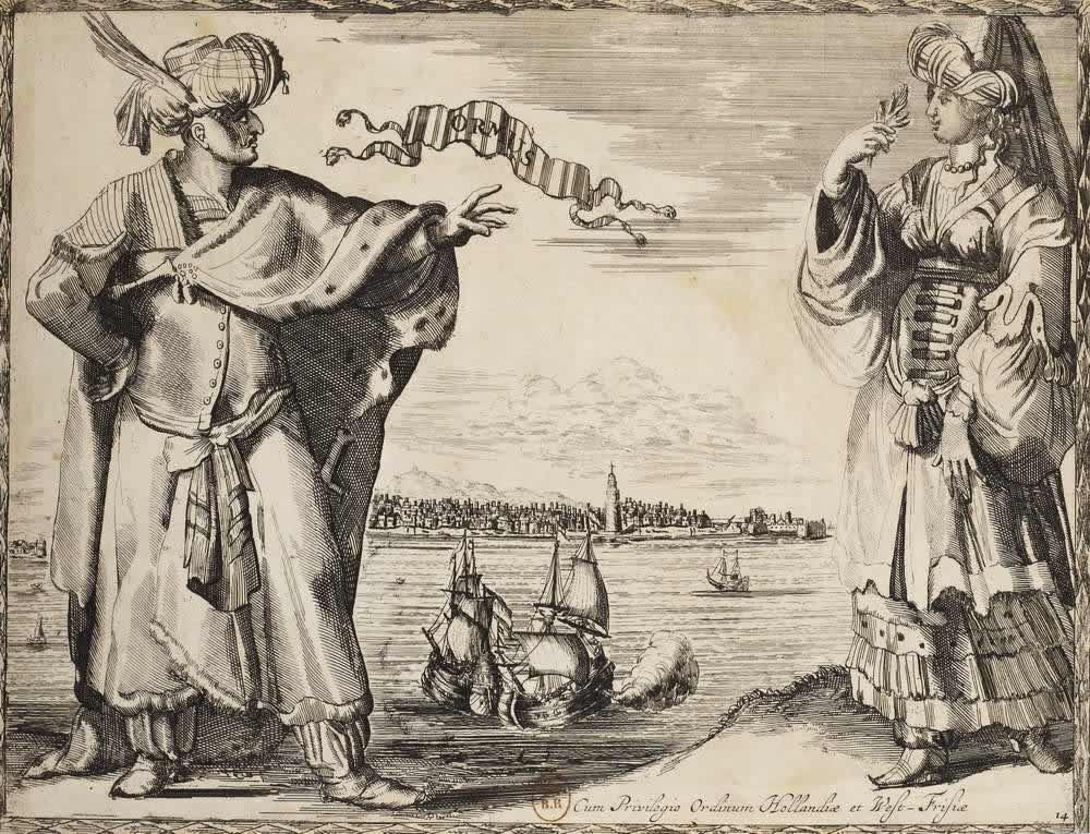 Костюмы жителей Ормузского королевства (государства в районе Ормузского пролива)
