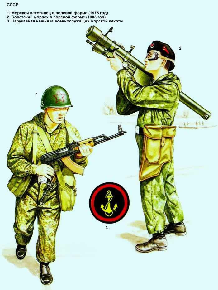 Советский Союз - морская пехота