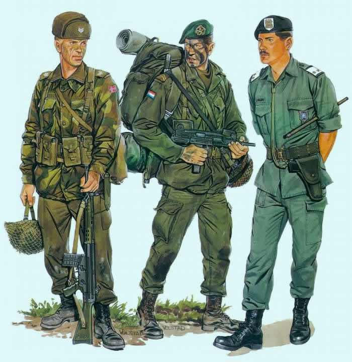 Солдаты армий стран НАТО (1980-е годы)