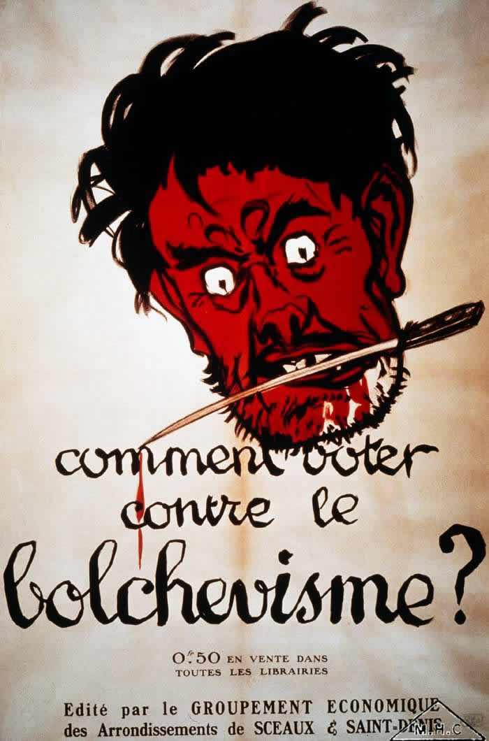 Зачем голосовать против большевизма? (Франция, 1919 год)