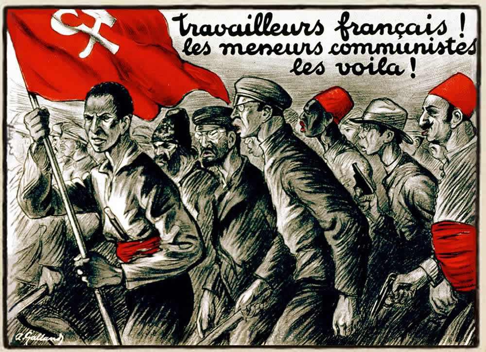 Рабочие Франции! Посмотрите как на самом деле выглядят коммунистические лидеры! (Франция, 1927 год)