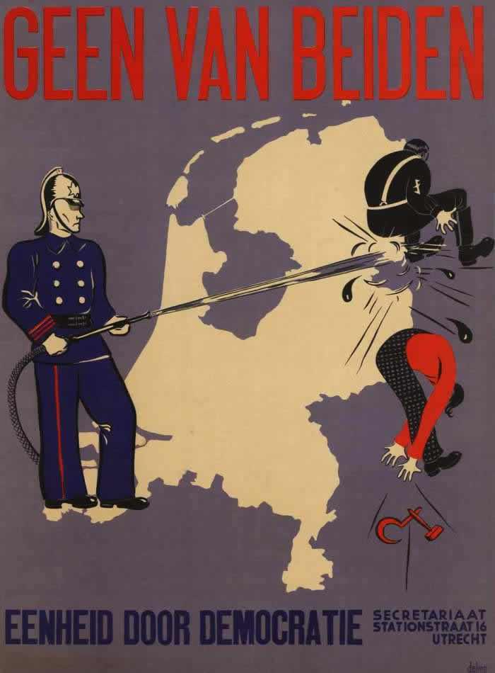 Ни за кого из них. Единство через демократию (Нидерланды, 1938 год)