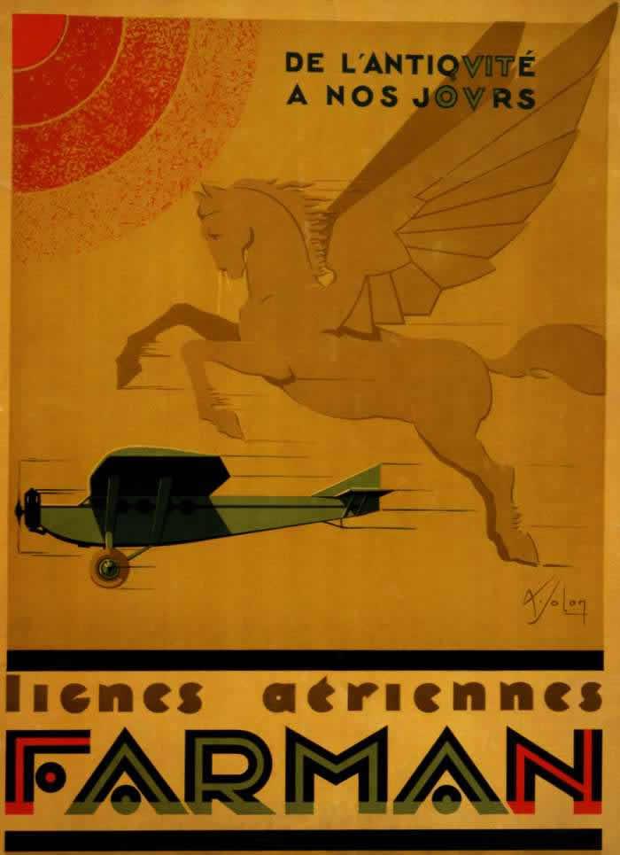 Авиакомпания Farman - от древности до наших дней (1928 год)