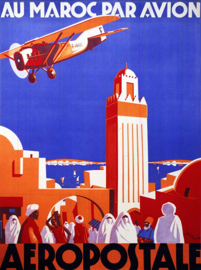 Авиакомпания Generale Aeropostale - в Марокко на самолете (1928 год)