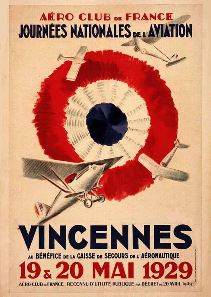 День национальной авиации. Показательные полеты в пригороде Парижа - Венсене (май 1929 года)
