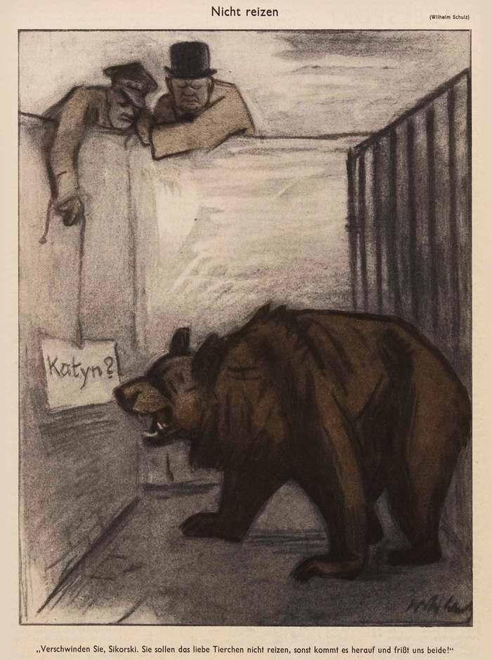 Сикорский, не дразни русского медведя (Simplicissimus)