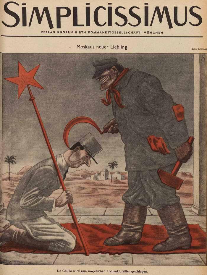 Французский генерал Де Голль стал новым любимчиком Москвы  (Simplicissimus)