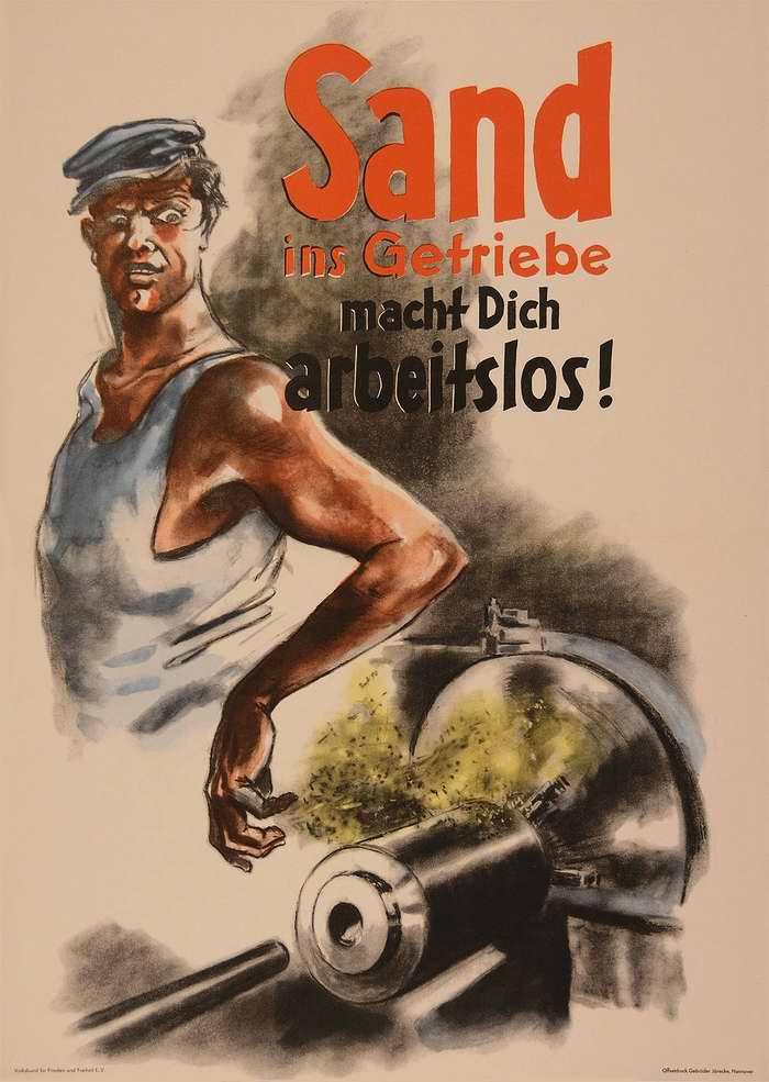 Вредители, которые на производстве пытаются вставлять палки в колеса, хотят сделать тебя безработным!