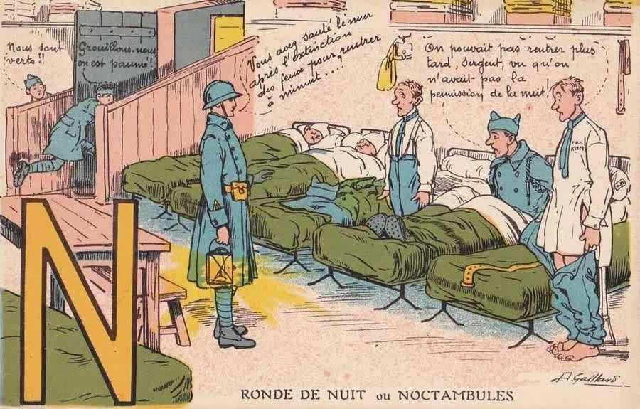 Французские солдатские открытки 20 х