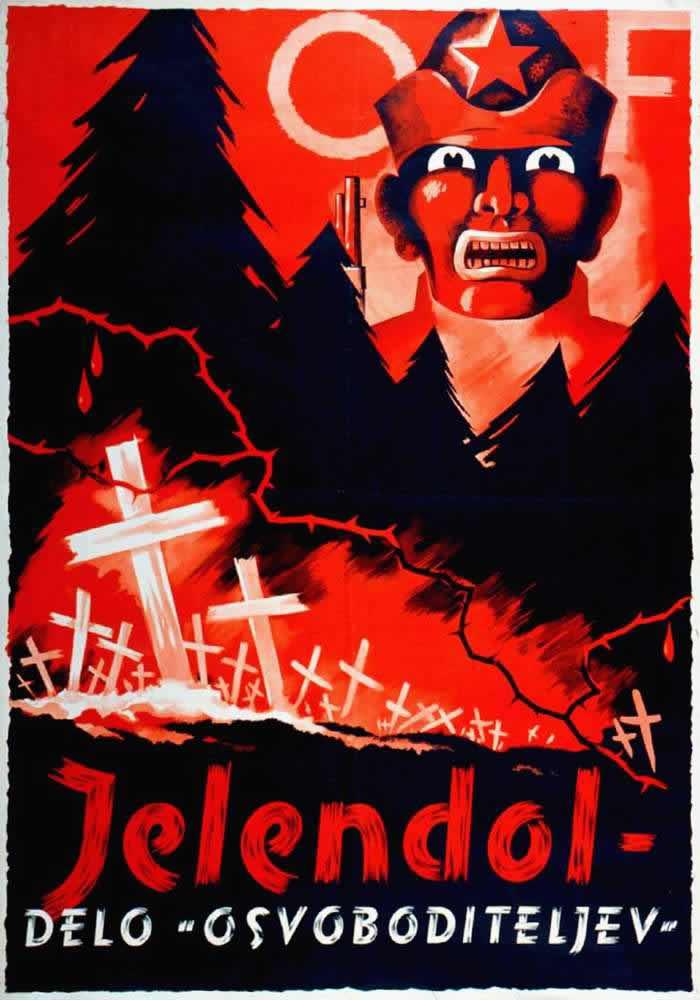 Массовое убийство военнопленных возле деревни Jelendol - дело рук коммунистических освободителей (1944 год)