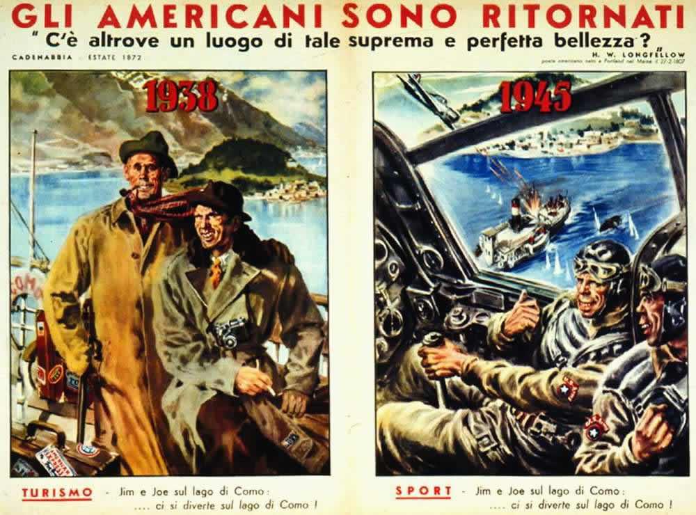 Американцы вернулись: в 1938 году они приезжали в качестве туристов, а в 1945 - прибыли для занятия кровавым спортом