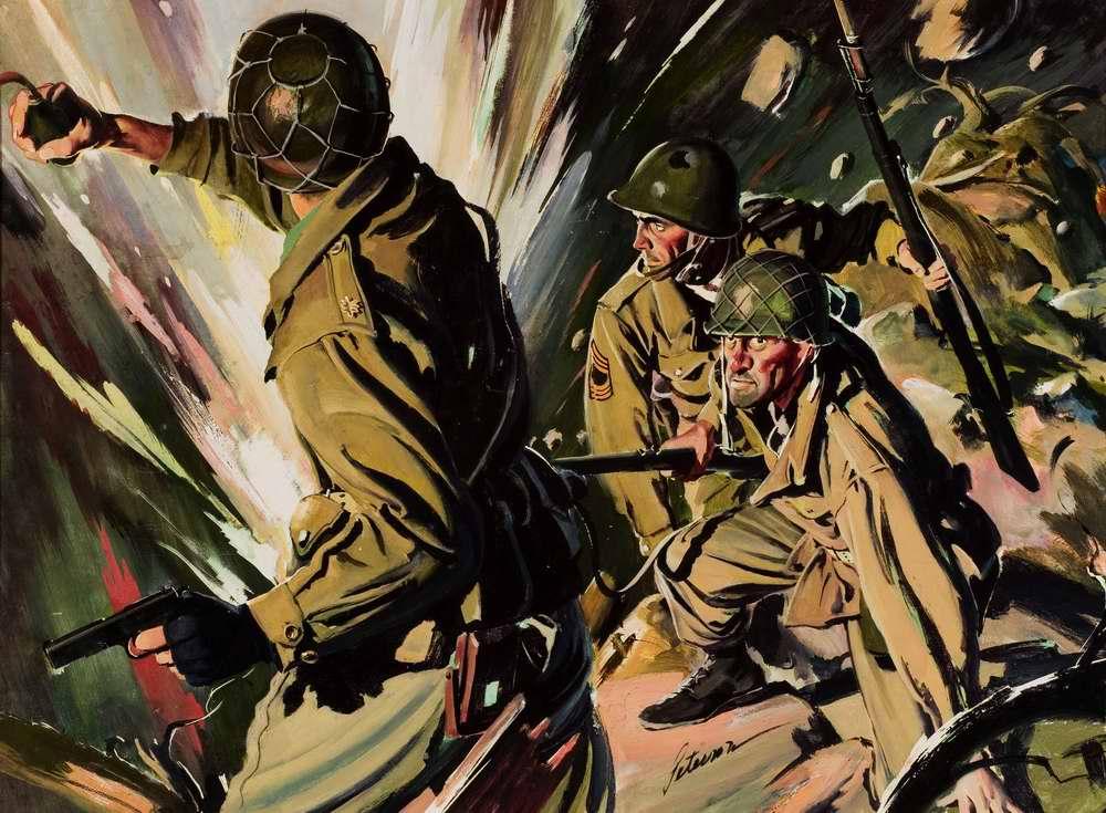 Рисунок художника Перри Петерсона (Perry Peterson)
