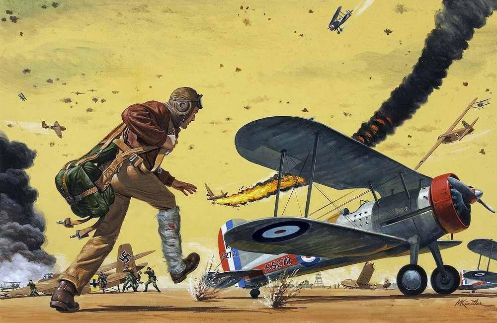 Рисунок художника Mort Kunstler (7)