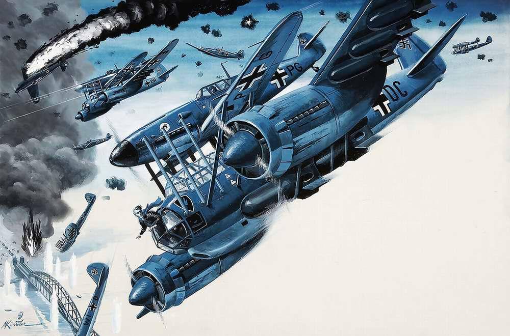 Рисунок художника Mort Kunstler (12)