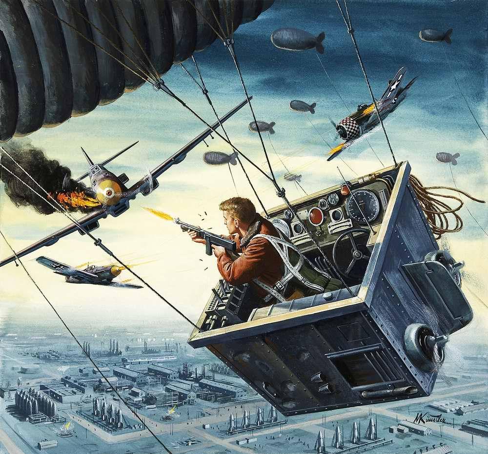 Рисунок художника Mort Kunstler (14)