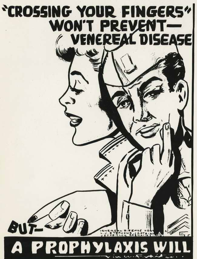 Не будет лишним скрестить пальцы в надежде избежать венерических заболеваний, но лучше всего заниматься их профилактикой