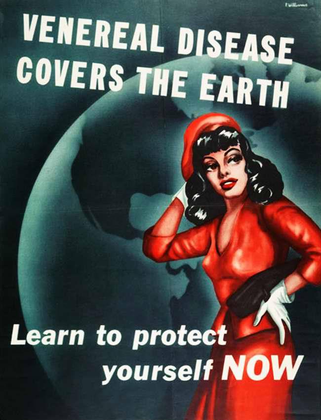 Венерические заболевания распространились по всему миру. Научись защищать себя от них здесь и сейчас