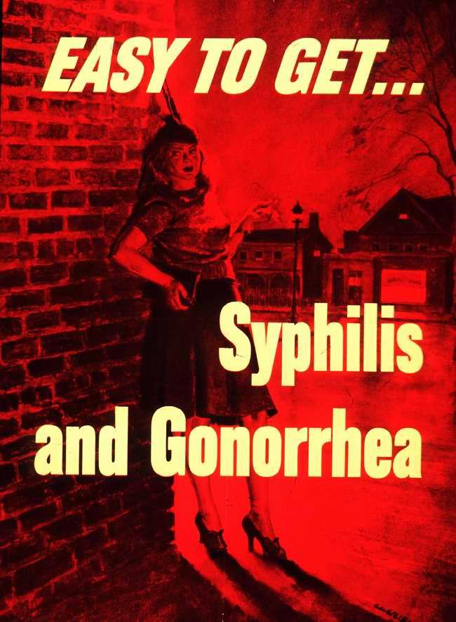 Так легко обрести ... сифилис и гонорею