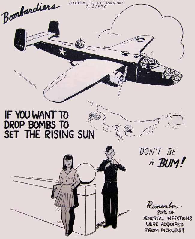 Летчик, если ты хочешь сбрасывать бомбы на Японию ради достижения победы над ней, то не веди себя как безмозглая задница