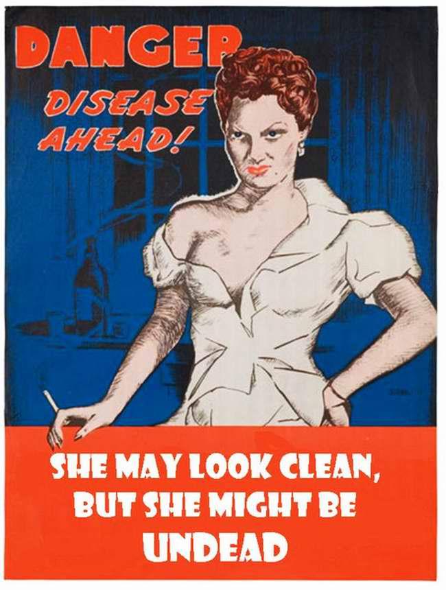 Угроза заразного заболевания! Она может выглядеть опрятной и чистой, но способна превратить тебя в немощного калеку